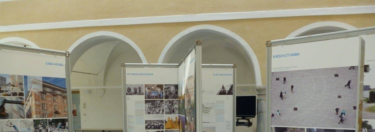 "Ausstellung ""Young Viennese Architects"" in Sarajevo"