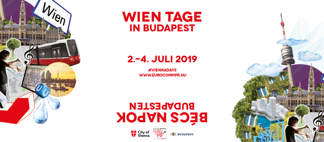 Banner Wien Tage Budapest 2019